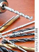 Купить «Электрическая дрель и сверла», фото № 131484, снято 28 ноября 2007 г. (c) Александр Паррус / Фотобанк Лори