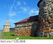 Купить «Соловецкий Кремль», фото № 135004, снято 16 августа 2007 г. (c) Ярослава Синицына / Фотобанк Лори