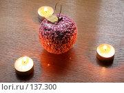 Купить «Стеклянные яблоки», фото № 137300, снято 4 декабря 2007 г. (c) Parmenov Pavel / Фотобанк Лори