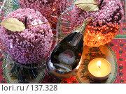 Купить «Стеклянные яблоки», фото № 137328, снято 4 декабря 2007 г. (c) Parmenov Pavel / Фотобанк Лори
