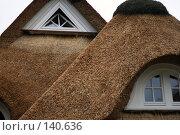 Купить «Тростниковая крыша», фото № 140636, снято 5 декабря 2007 г. (c) Екатерина Соловьева / Фотобанк Лори