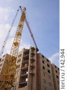 Купить «Строительство жилого дома», фото № 142944, снято 17 марта 2007 г. (c) Ivan I. Karpovich / Фотобанк Лори