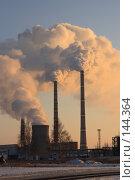 Купить «Теплоэлектроцентраль г.Набережные Челны», фото № 144364, снято 2 декабря 2007 г. (c) Алексей Баринов / Фотобанк Лори