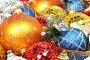 Разноцветные новогодние украшения, фото № 146936, снято 19 декабря 2006 г. (c) Александр Паррус / Фотобанк Лори