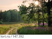 Купить «Вечерний пейзаж», фото № 147392, снято 30 июня 2007 г. (c) Алексей Хромушин / Фотобанк Лори