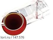 Купить «Чашка чая», фото № 147576, снято 8 декабря 2007 г. (c) Ирина Иглина / Фотобанк Лори
