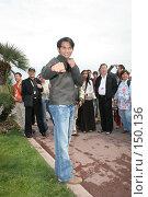Купить «Знаменитости. Тони Жа», фото № 150136, снято 16 мая 2005 г. (c) Денис Макаренко / Фотобанк Лори