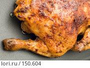 Купить «Жареный цыпленок», фото № 150604, снято 24 сентября 2018 г. (c) Угоренков Александр / Фотобанк Лори