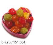 Купить «Вкусная валентинка», фото № 151064, снято 17 декабря 2007 г. (c) Иван / Фотобанк Лори