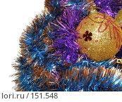 Купить «Елочные украшения», фото № 151548, снято 1 декабря 2007 г. (c) Елена Руденко / Фотобанк Лори