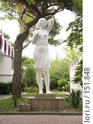 Купить «Памятник Деве, г. Геленджик», фото № 151848, снято 18 ноября 2017 г. (c) BART / Фотобанк Лори