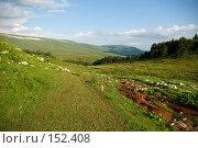 Купить «Альпийские луга. Плато Лаго-Наки. Кавказский заповедник», фото № 152408, снято 10 августа 2007 г. (c) Петухов Геннадий / Фотобанк Лори