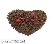 Купить «Кофе, сердце», фото № 152524, снято 18 декабря 2007 г. (c) Иван / Фотобанк Лори