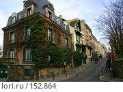 Купить «Крутая улица в одном из районов Парижа,  Франция», фото № 152864, снято 27 февраля 2006 г. (c) Harry / Фотобанк Лори