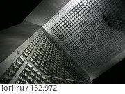 Купить «Вид изнутри на Арку Дефанса, окна небоскреба выходящие внутрь и крыша арки», фото № 152972, снято 28 февраля 2006 г. (c) Harry / Фотобанк Лори