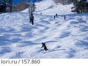 Купить «Подъём на Чегет», фото № 157860, снято 15 декабря 2007 г. (c) Борис Панасюк / Фотобанк Лори