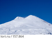 Купить «Вид на Эльбрус с Чегета», фото № 157864, снято 15 декабря 2007 г. (c) Борис Панасюк / Фотобанк Лори