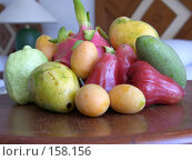 Купить «Экзотические фрукты», фото № 158156, снято 24 марта 2007 г. (c) Колчева Ольга / Фотобанк Лори