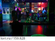 Купить «Интерьер ночного клуба - громкая музыка, ритм и вспышки. Движение на танцполе», фото № 159828, снято 4 февраля 2006 г. (c) Harry / Фотобанк Лори