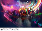 Купить «Игра огней в ночном клубе, краски и движение, ритм и яркий свет. Голова идет кругом!», фото № 159856, снято 4 февраля 2006 г. (c) Harry / Фотобанк Лори