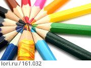 Купить «Набор карандашей на белом фоне», фото № 161032, снято 9 октября 2006 г. (c) Александр Паррус / Фотобанк Лори