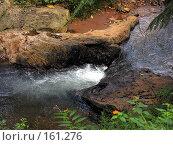 Купить «Речушка сквозь камни», фото № 161276, снято 15 ноября 2004 г. (c) Марина Бандуркина / Фотобанк Лори