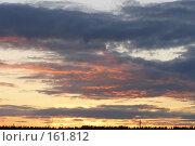 Купить «Красный закат», фото № 161812, снято 30 июня 2006 г. (c) Дмитрий Никитин / Фотобанк Лори