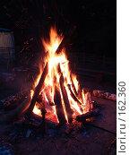 Купить «Костер в ночи», фото № 162360, снято 13 мая 2006 г. (c) Игорь Сидоренко / Фотобанк Лори