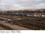 Купить «Железная дорога в Минске», эксклюзивное фото № 163792, снято 5 декабря 2007 г. (c) Natalia Nemtseva / Фотобанк Лори