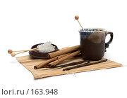 Купить «Чай с корицей, ванилью и сахарной карамелью», фото № 163948, снято 22 декабря 2007 г. (c) Татьяна Белова / Фотобанк Лори