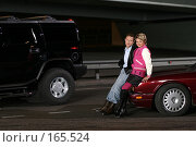 Купить «Павел Буре и Катя Лель», эксклюзивное фото № 165524, снято 15 сентября 2004 г. (c) Сергей Лаврентьев / Фотобанк Лори
