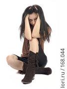 Купить «Девушка», фото № 168044, снято 10 декабря 2007 г. (c) Ольга Сапегина / Фотобанк Лори