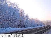 Купить «Зимняя дорога», фото № 168912, снято 5 января 2008 г. (c) Лифанцева Елена / Фотобанк Лори
