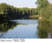 Купить «Вид на реку с высокого берега», фото № 169720, снято 21 августа 2005 г. (c) Светлана Белова / Фотобанк Лори