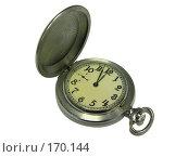 Купить «Часы, показывающие без трех минут двенадцать», фото № 170144, снято 13 июня 2007 г. (c) Igor Pavlenko / Фотобанк Лори