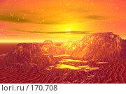 Купить «Золотые горы», иллюстрация № 170708 (c) ElenArt / Фотобанк Лори
