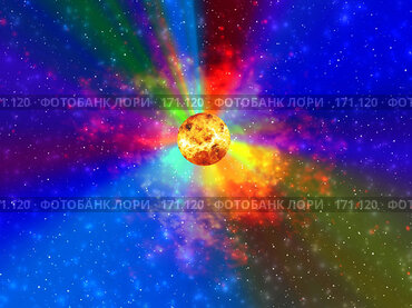 Купить «Солнечная галактика», иллюстрация № 171120 (c) ElenArt / Фотобанк Лори