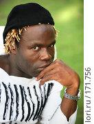 Купить «Портрет молодого печального мужчины», фото № 171756, снято 29 октября 2007 г. (c) Морозова Татьяна / Фотобанк Лори