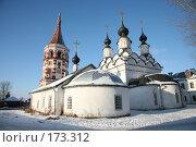 Купить «Суздальские терема», фото № 173312, снято 5 января 2008 г. (c) Игорь Сидоренко / Фотобанк Лори