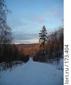 Купить «Дорога в горах», фото № 173404, снято 5 января 2008 г. (c) Илья Клыков / Фотобанк Лори