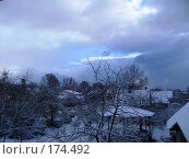 Зимнее утро. Стоковое фото, фотограф maruta bekina / Фотобанк Лори