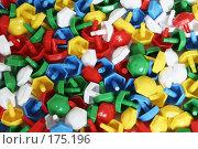 Купить «Разноцветная детская мозаика россыпью», фото № 175196, снято 13 января 2008 г. (c) Галина Лукьяненко / Фотобанк Лори