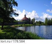 Музей-крепость «Корела» (1310 год), город Приозерск (2004 год). Редакционное фото, фотограф Баскаков Андрей / Фотобанк Лори