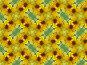 Фон - шмель на желтом цветке топинамбура, фото № 178840, снято 25 августа 2007 г. (c) Анна Драгунская / Фотобанк Лори