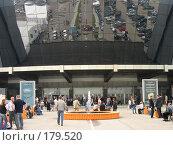 Купить «Крокус Экспо», фото № 179520, снято 17 мая 2007 г. (c) Дмитрий Алимпиев / Фотобанк Лори