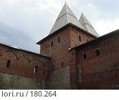 Купить «Никольская башня, кремль г. Зарайск», фото № 180264, снято 29 июля 2007 г. (c) Александр Бербасов / Фотобанк Лори