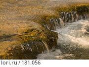 Купить «Водопад на горном ручье», фото № 181056, снято 15 января 2008 г. (c) Федор Королевский / Фотобанк Лори