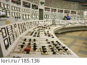 Купить «Южная ТЭЦ-22 в Санкт-Петербурге, пульт управления», фото № 185136, снято 18 января 2008 г. (c) Александр Секретарев / Фотобанк Лори