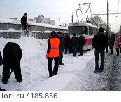 Купить «Снегопад в Самаре», фото № 185856, снято 25 января 2008 г. (c) Светлана Кириллова / Фотобанк Лори