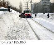 Купить «Снегопад в Самаре», фото № 185860, снято 25 января 2008 г. (c) Светлана Кириллова / Фотобанк Лори